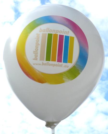 Perfekt-Druck in 8 Farben Passegenau bei Ballonpoint und Gummiwerk Czermak und Feger