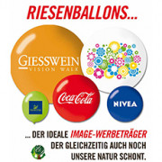 Riesen_Werbeballons Ø 40 - 210cm