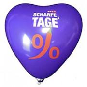 Herzballons 33cm - 100cm