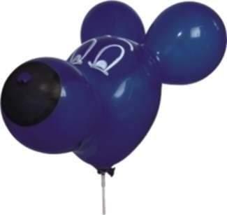 F04b Mauskopf ~ 50cm groß, Latexfigur, Ballonfarbe nach Auswahl, mit Standardaufdruck ohne Zubehör.