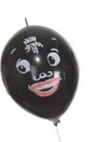 F10n-30-113-S black man standard, Balloon colour a