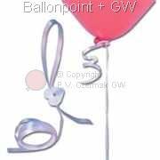 ZF4-H Ballonschnellverschluß mit Verschlußscheibe zu je 50 Stück