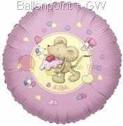 FOBM045-5520E Folienballon Lillebi Mouse with cake