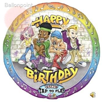 "FOBM072-305001PL 72cm(28"") Singing Balloon"