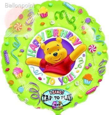 Happy Birthd, f.Ballongas und Luftfüllung geeignet