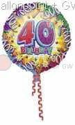 "FOBM045-0393E Folienballon ""Birthday Explosion40"""