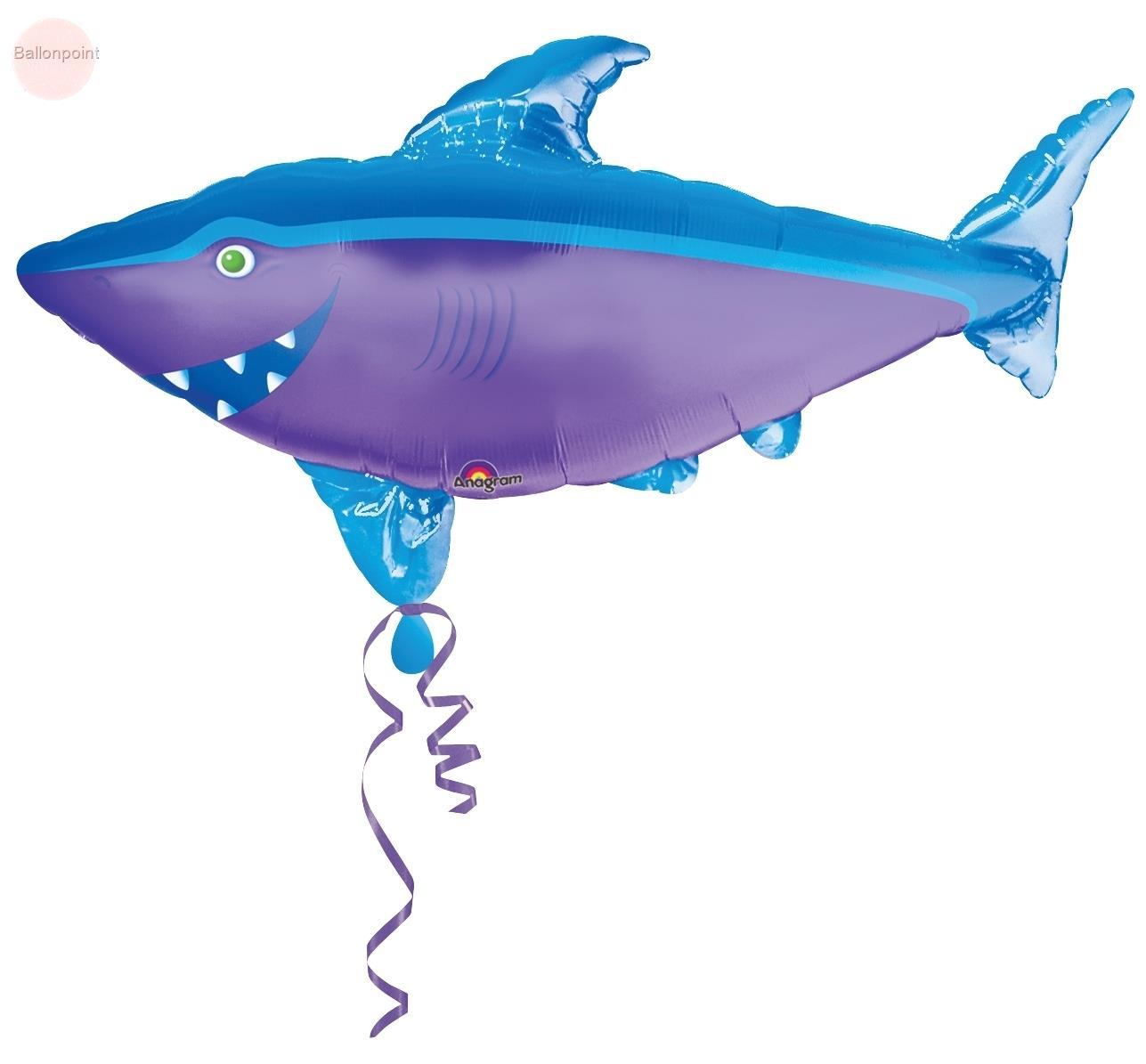 """FOBF104-07257A Shark 58x104cm(23x41"""") Hai-Fisch"""