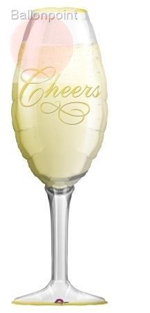 "FOBF097-0619501A Champane Glass 97cm(38"") x 50cm, Sektglas"