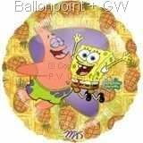 FOBM045-0925202E Spongebob Folienballon Ø45cm
