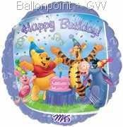 """FOBM045-09299E  Folienballon Rund 45cm  (18"""")"""