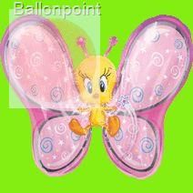 "FOBF089-512497MD Tweety Fairy Schmetterling SuperShape 69cm - 24""/27"" Artikelgruppe F335"