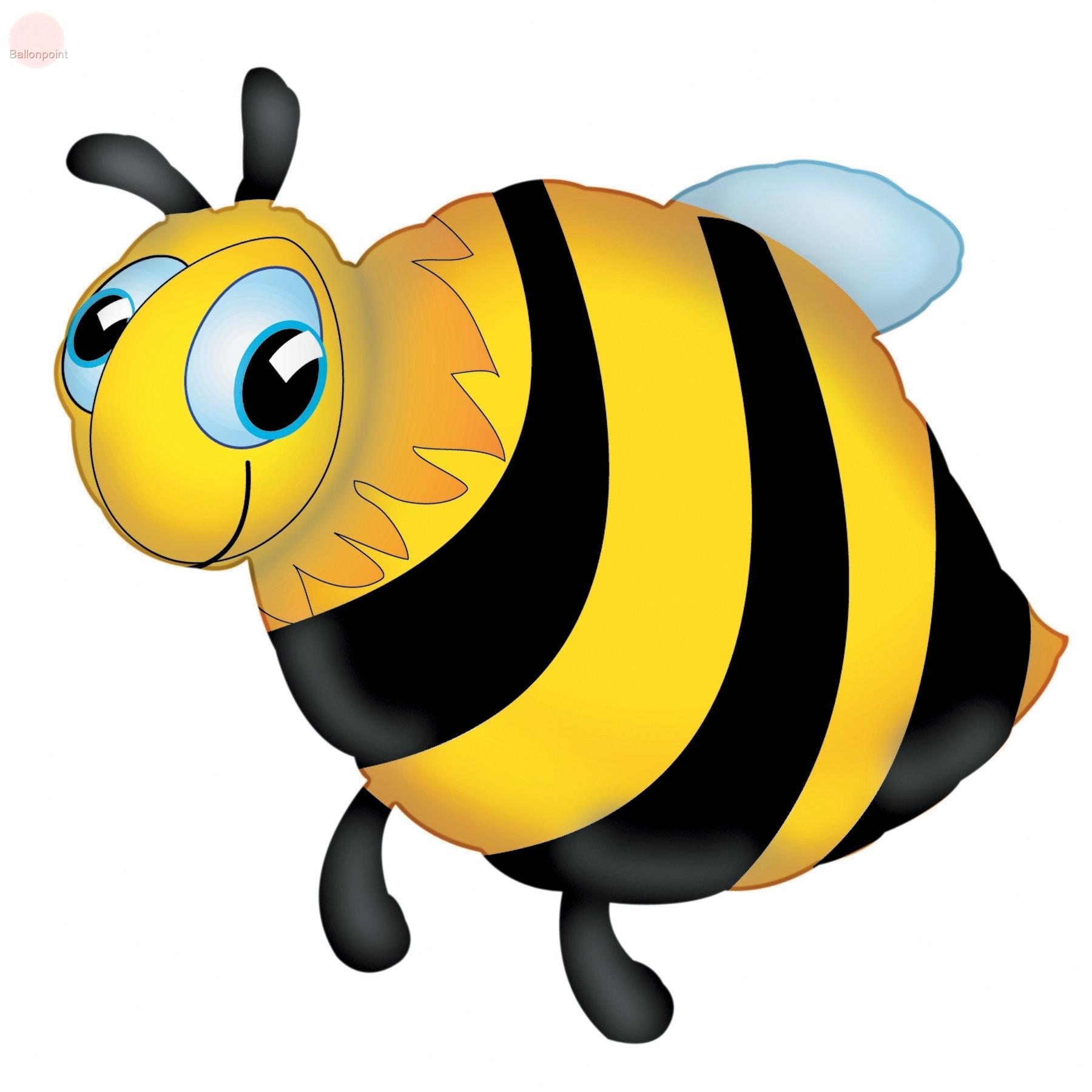 FOBF071-660921E Folienfigurballon Jumbo Shape Bee