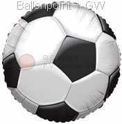 "FOBM045-5068E Folienballon mit Fussballmotiv 45cm (18"")"