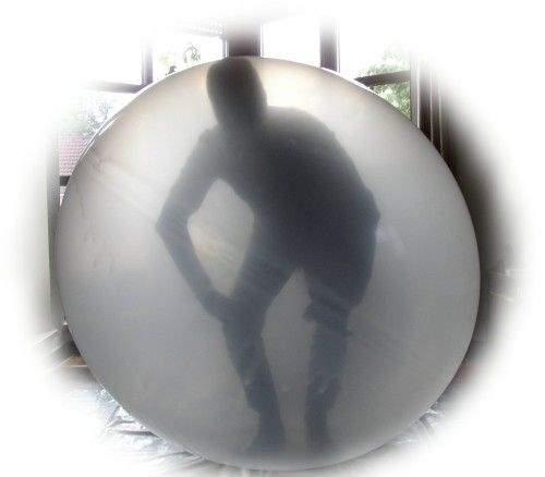 Künstlerballon ( Climb In ) standard , kleine Einstiegsöffnung ~15cm bei dem Riesenkünstlerballon