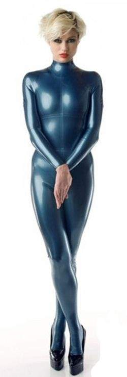 LF025100-M041 LATEX-Folie in Metallic Metallic Pfaublau