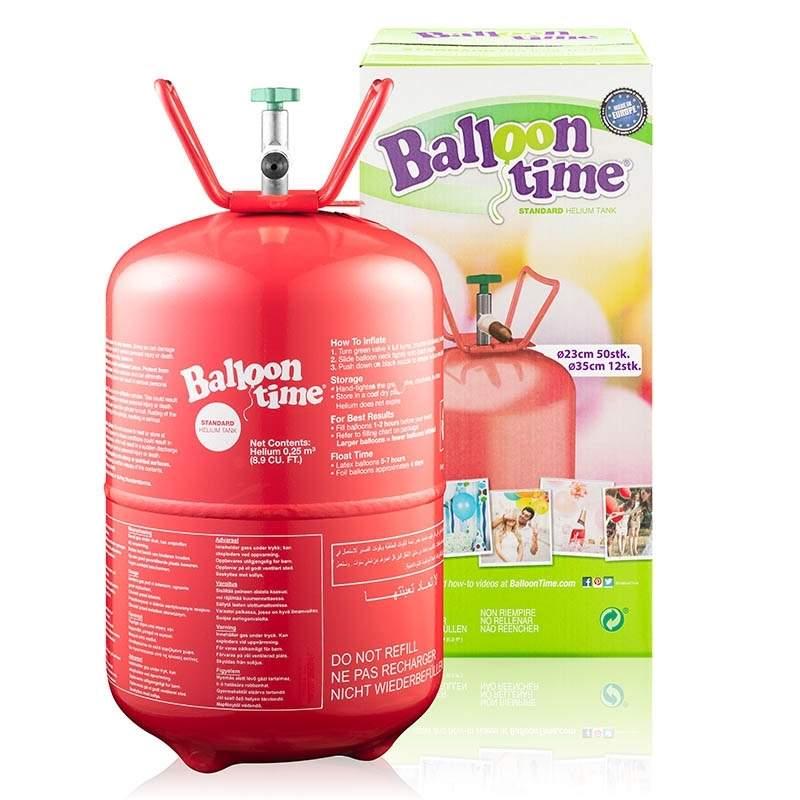 BG-25 Ballongas 25 L Einwegflasche 0,25m3 Helium