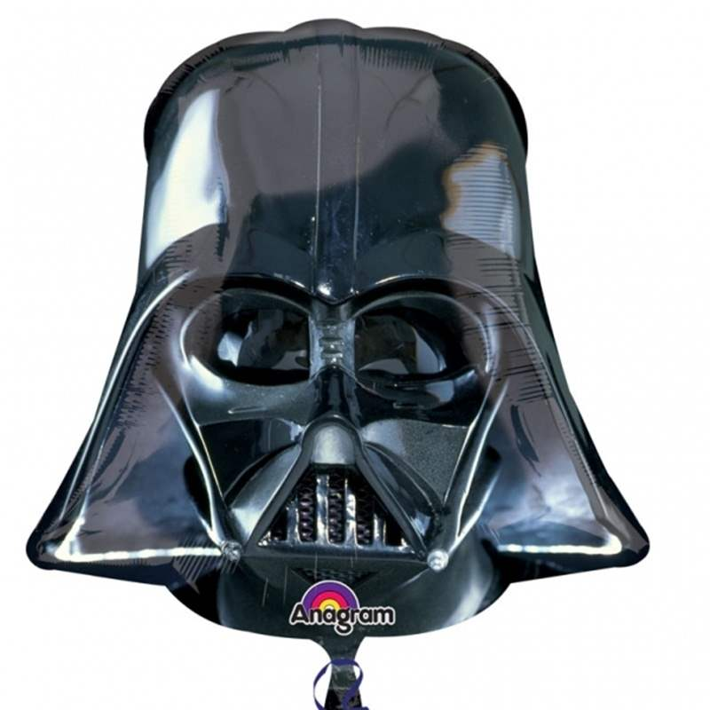 (#)Darth Vader II, Folien Form II Art.Kat. F322 (non metallic)