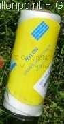 Ballonschnur ca.1,2mm stark gedrillt elastisch in in Weiß,