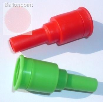 SAV Mund Aufblasventil1 für Ballons von 20-38cm mit Rückschlagventi, Farbe nach Wahl