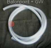 PVC-19-TRANS tube ID Ø 19mm  for Balloonvalve Adapter BFA and electr. Pump