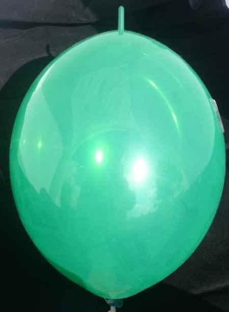 BLOL12S-000-00  Ø~28,5cm Link Ballon mit Kopf-Nippel Bunter Mix