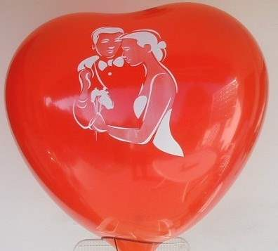 MH070n-101-21-HO10 big motiv-heart size ca.70cm Balloon color red
