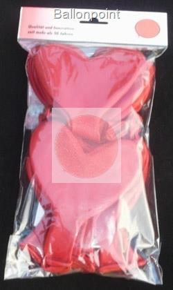 LBH040N-101-30 SB-Set H040n 30 piece  not printed Balloons in RED
