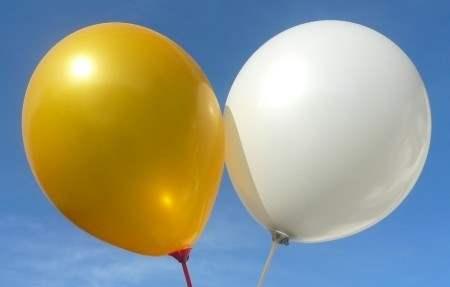 R75U-00-M Ø~24cm extra starker Rundballon, Ballonfarbe nach Auswahl aus ~20 Farben