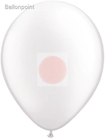 R120Q-0081-00-U Q- Rundballon Nenngröße 40cm/16inch, Perlfarben Ø~39/52cm