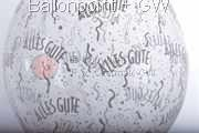 "STR045-MQ12-25 Ø 45cm (18"") Stuffing balloon, - Alles Gute -,  25 ea per pack"