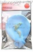 BMR175-21H-WEK01 Ø~60cm emblem printed on two site, inkl. seal Balloons color of your choicen