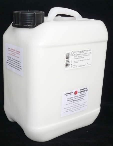 LGL-5 LATEX Gummilösung 5 Liter,  Latexkleber Abfüllung in 5 Liter Kanister