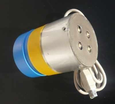 BaLed3W-4O-70 12V-30VDC ÖKO Innen LED-Ballonlampe LED-Farbe nach Auswahl, Ø70mm,  ohne gesonderte Lichteffekt Steuerung.