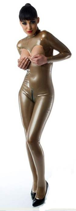 LF025100-M120 LATEX-Folie in Metallic Goldsilber