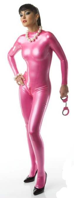 LF025100-M060 LATEX-Folie in Metallic (Perlglanz) Pink, Meterware Bahnbreite 1m