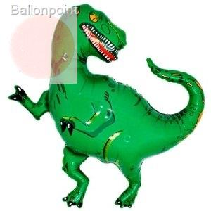 FOBF107-0104185F Folienfigurballon Jumbo Shape Dinosaurier grün Non metallic
