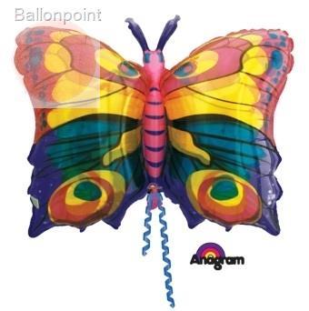FOBF051-022205F Jewel Butterfly non metallic