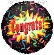 FOBM045-65041E Folienballon ~45cm Glückwünsche