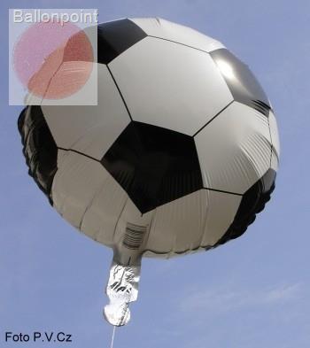 """FOBM070-70978BA Ø70cm (27"""") Fussballmotiv Folienballon,"""