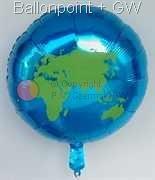 FORM045-006-21U-DE10 Motiv Weltkontinent Ø45cm