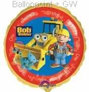 FOBM045-807281E Bob the Builder Folienballon Ø45cm