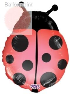 "FOBF053-6591102A Red Lady Bug 53cm(21"") SuperShape"