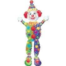 "AW180-508975A Air Walker Crazy Clown 78x180cm(71x78"")"