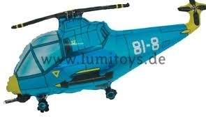"FOBF103-103492F  Hubschrauber in Blau Folienballon (29""), Artikel Kategorie E F090"