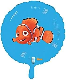 """FOBM045-10329E Finding Nemo - Folienballon Ballongröße Ø45cm (18"""")"""