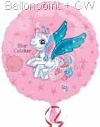 FOBM045-10933E My Little Pony Folienballon Ø45cm (18inch), Star Catcher