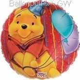 "FOBM045-81137E Happy Bär Folienballon Rund 45cm  (18"")"