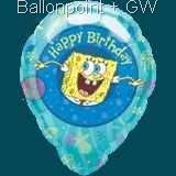 FOBM045-12487E Spongebob Squarepants Folienballon Ø45cm