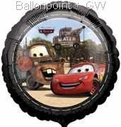 FOBM045-112965E Folienballon Cars NON Message