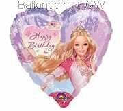 FOHM045-12978E Herz-Folienballon Disney Princess Dancing 45cm